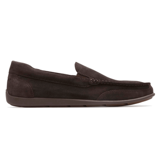 Bennett Lane IIII Venetian Slip-On Comfortable Men's Shoes in Brown